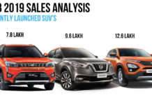 Mahindra XUV300, Nissan Kicks, Tata Harrier February 2019 Sales Analysis