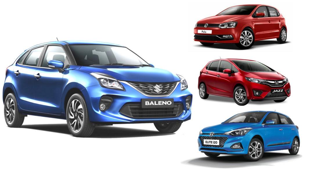 Maruti Baleno, Hyundai Elite i20, Honda Jazz, VW Polo