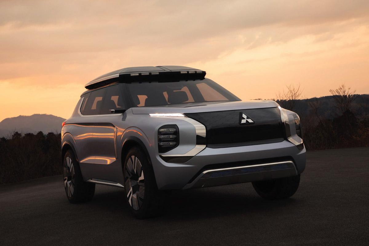 Mitsubishi Engelberg Concept Showcases Brand S Plug In
