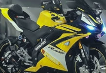 Modified Yamaha R15 V3.0