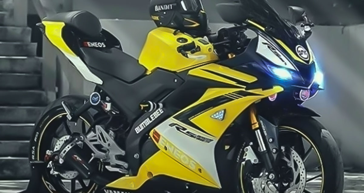 This Heavily Modified Yamaha R15 3 0 Looks Stunning