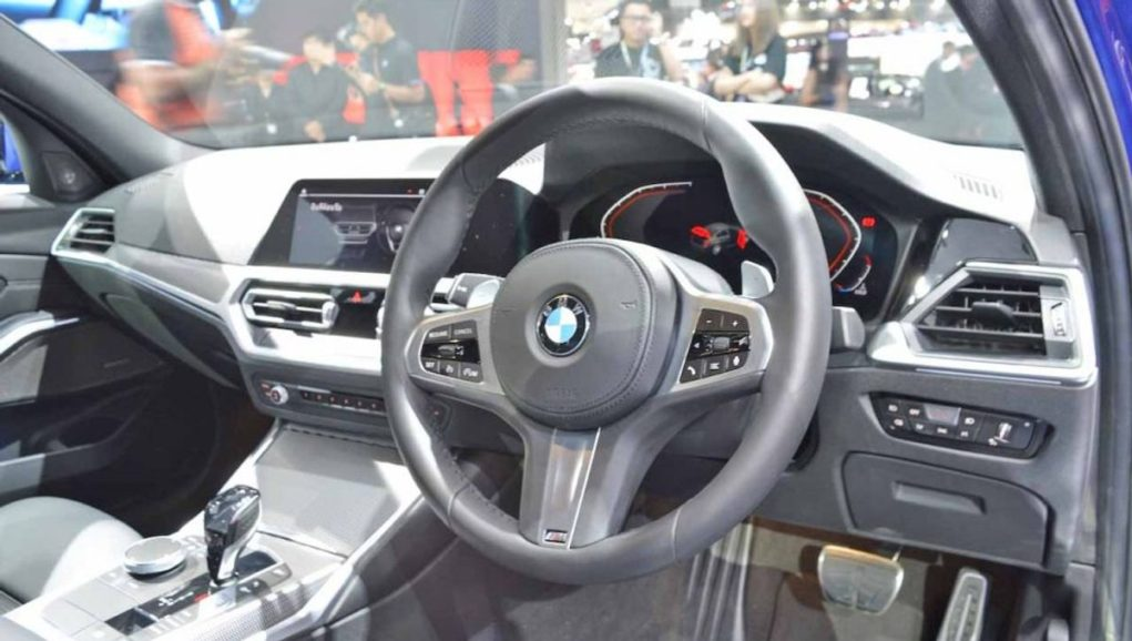 India-Bound New Gen BMW 3-Series Displayed At 2019 BIMS