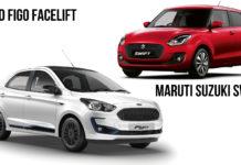 New Ford Figo Vs Maruti Suzuki Swift – Spec Comparison