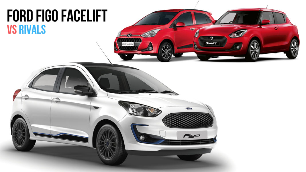 New Ford Figo Vs Maruti Swift Vs Hyundai Grand i10