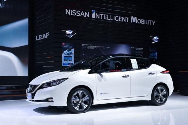 Nissan Leaf EV 2019 Bangkok Motor Show 1