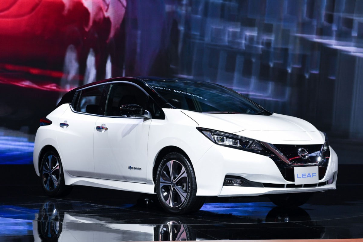 Nissan Leaf EV Exhibited At 2019 BIMS; India Launch This Year