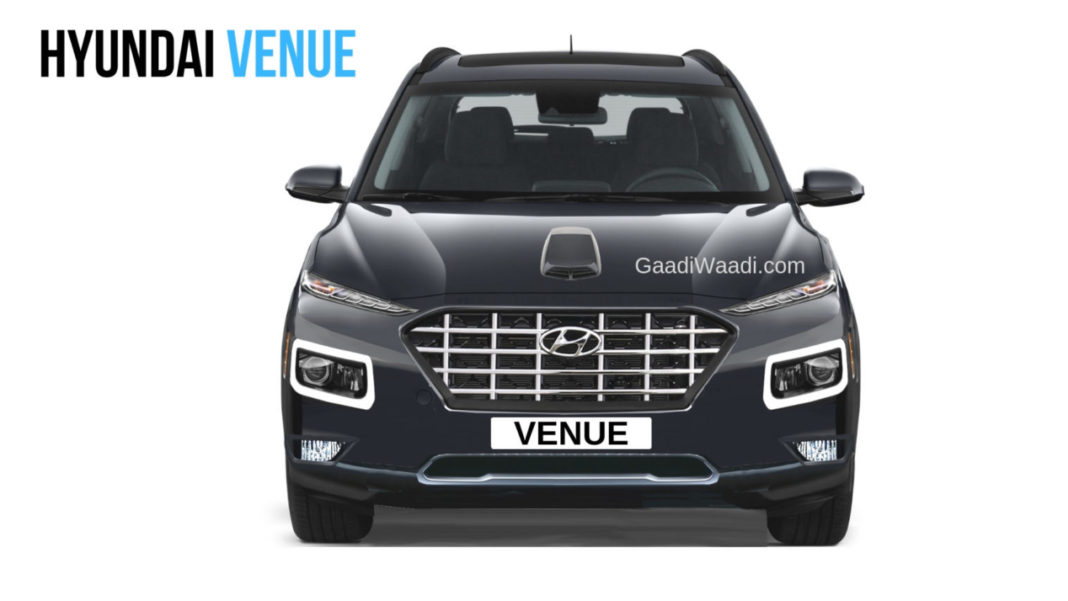 Production-Spec Hyundai Venue SUV