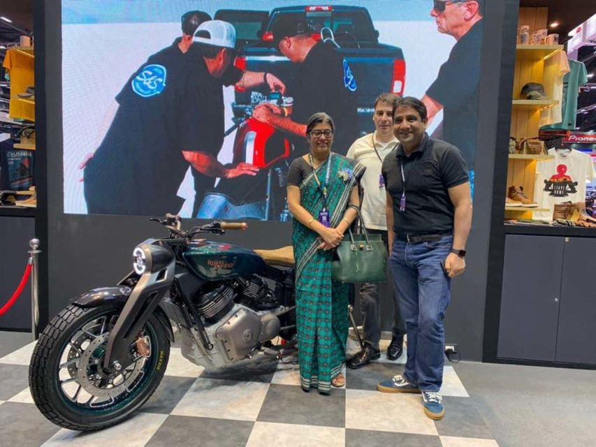 Royal Enfield Concept KX Bangkok International Motor Show 2019