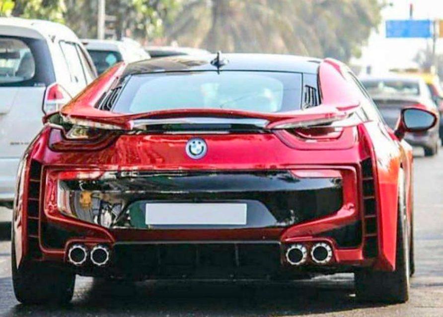 BMW I8 Custom >> Sachin Tendulkar S Bmw I8 Customized By Dc Design Looks