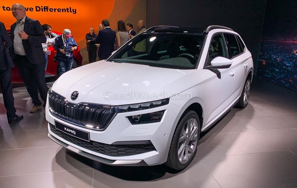 Geneva Auto Sales >> India-Bound Skoda Kamiq (Creta Rival) Greets Geneva Motor Show