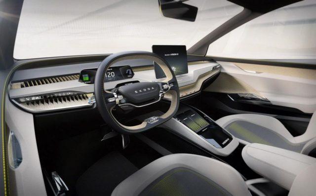 Skoda Vision IV Concept Interior