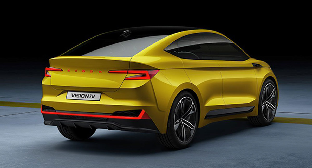 Stylish Skoda Vision IV Crossover-Coupe Concept With 500 ...