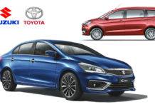 Suzuki To Supply Ciaz And Ertiga To Toyota As Part Of New Agreement
