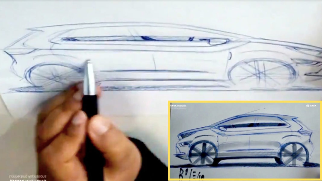 Tata Altroz Design Sketch Revealed_