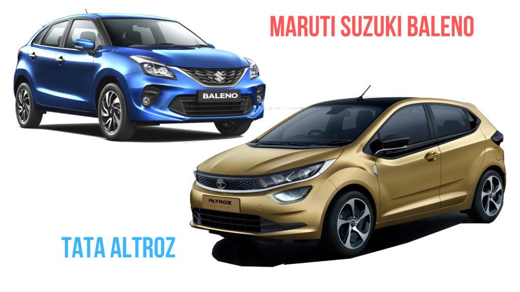 Tata Altroz Vs Maruti Suzuki Baleno - Dimensions Comparison