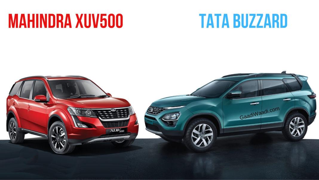 Tata Buzzard Vs Mahindra XUV500