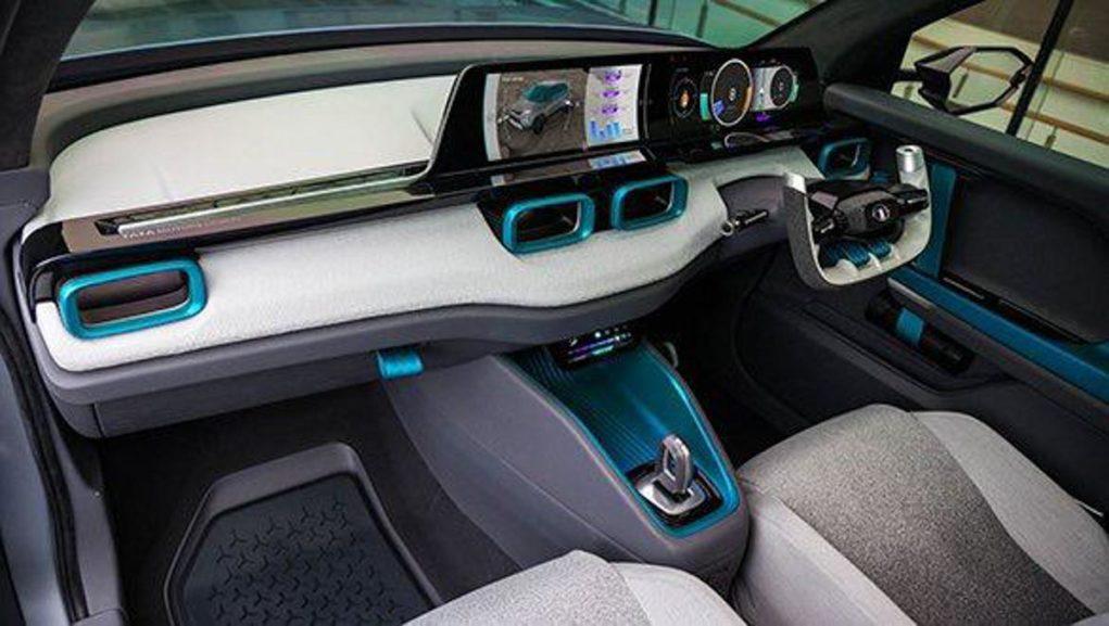 Tata H2X Concept Unveiled Interior