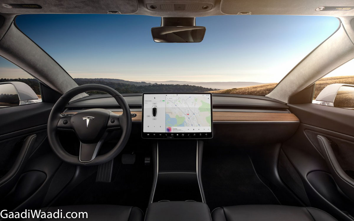 Tesla Model S Interior >> All-New Entry-Level Tesla SUV 'Model Y' With 482 Km Electric Range Unveiled
