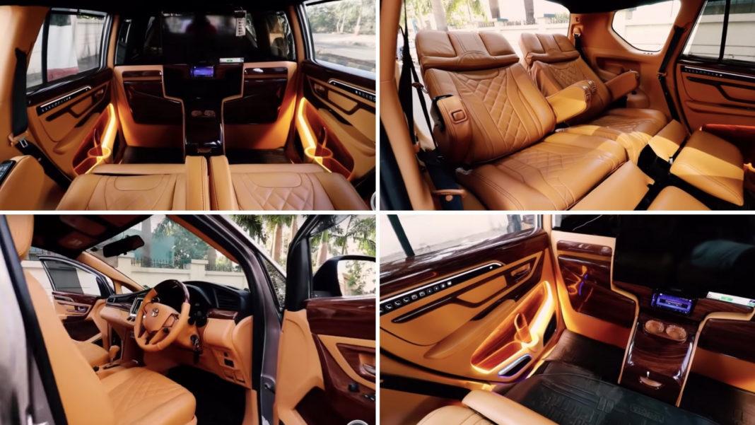 The Modified Toyota Innova Crysta Lounge Looks Super Luxurious