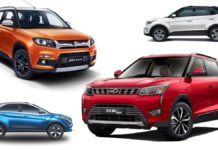 Top 10 Selling SUVs In February 2019 In India