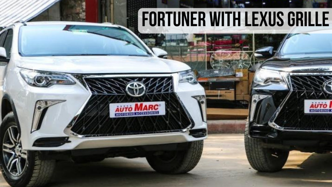 Toyota Fortuner Transformation To Lexus LX 570