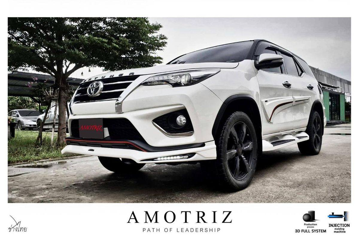 Toyota Fortuner With Amotriz Body Kit Looks More Muscular