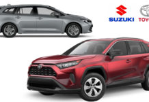 Toyota To Supply Electric RAV4 & Corolla Wagon To Suzuki In Europe