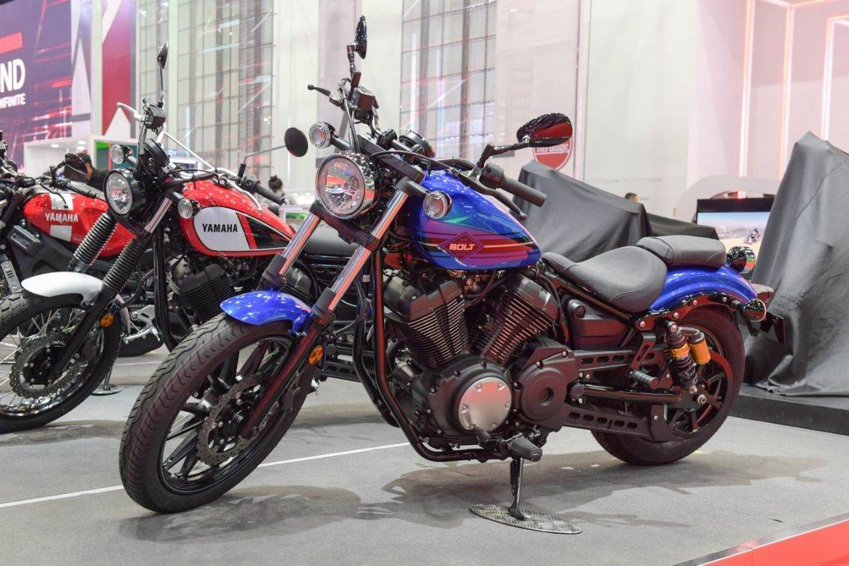 Yamaha Bolt R Cruiser Motorcycle Showcased At Bims 2019