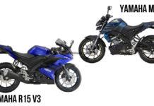 Yamaha YZF-R15 V3 VS Yamaha MT 15 -1