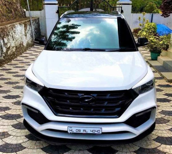 customised hyundai creta 7