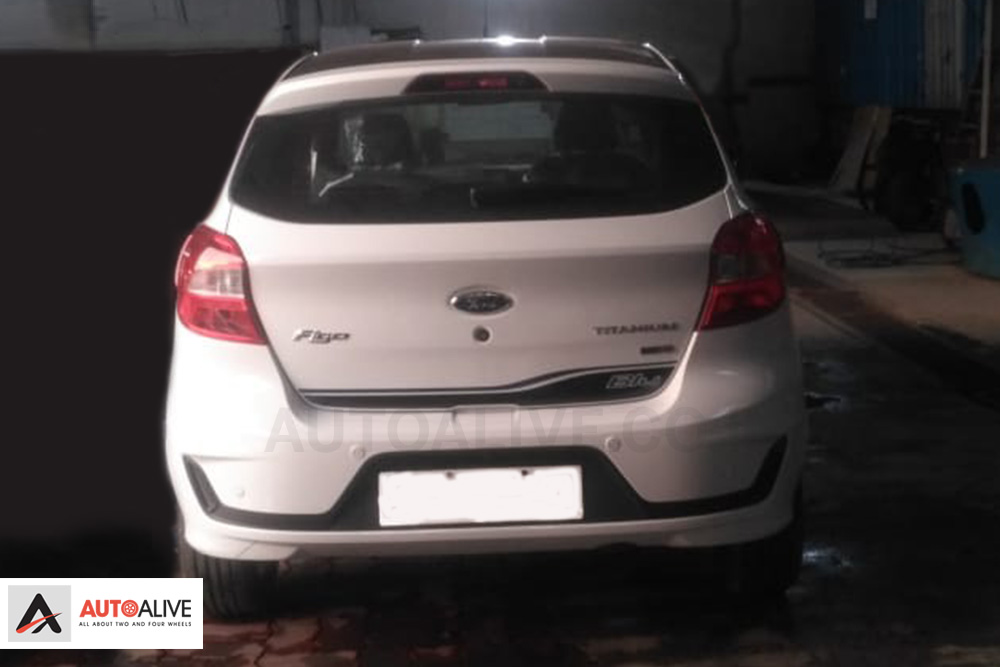 2019 Ford Figo Blu Reaches Dealership Ahead Of Launch