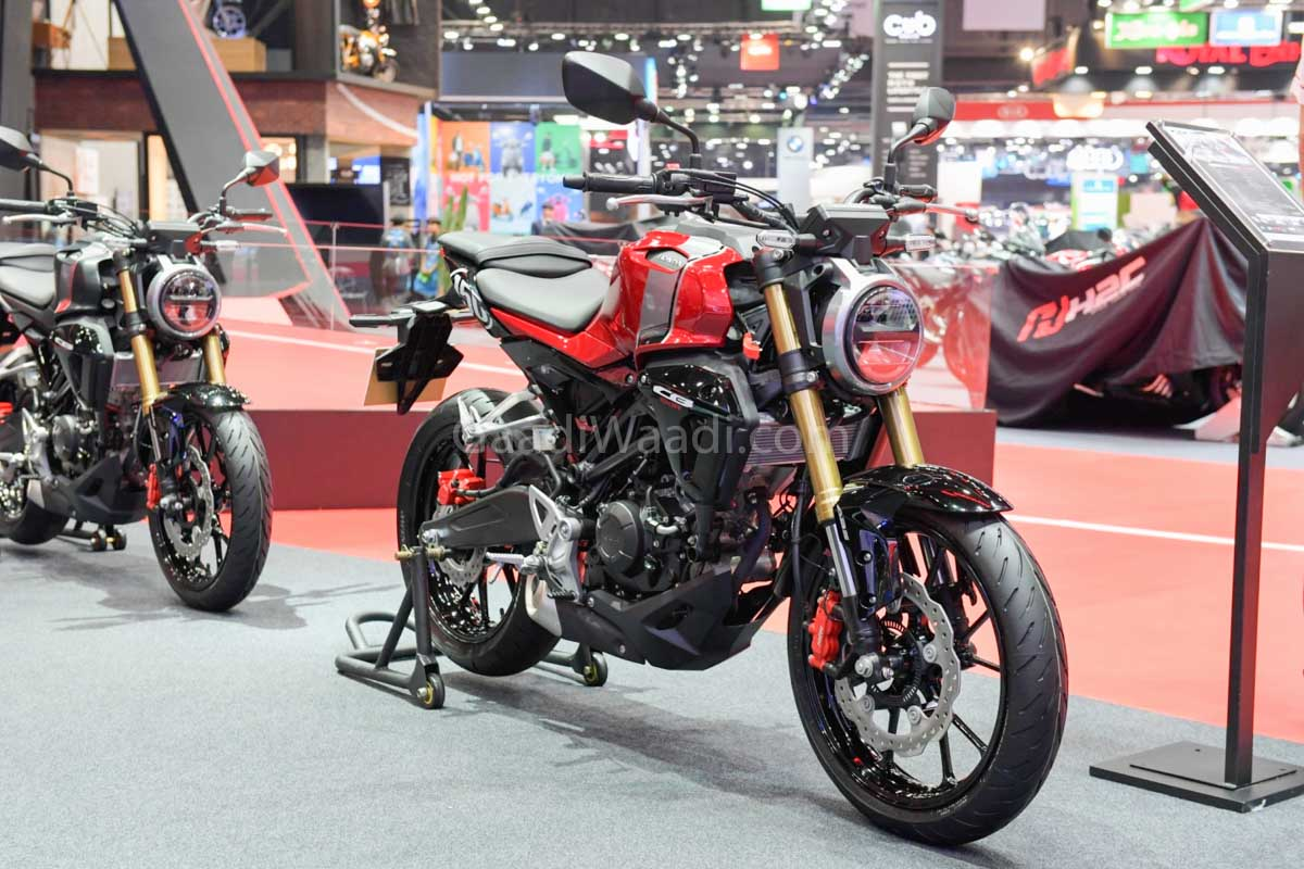 2019 Honda Cb150r Neo Sports Cafe Exhibited At Ongoing