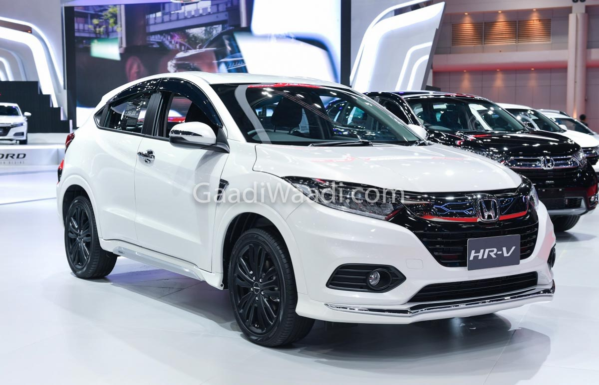 India-Bound Honda HR-V SUV With Bodykit Displayed At 2019 BIMS