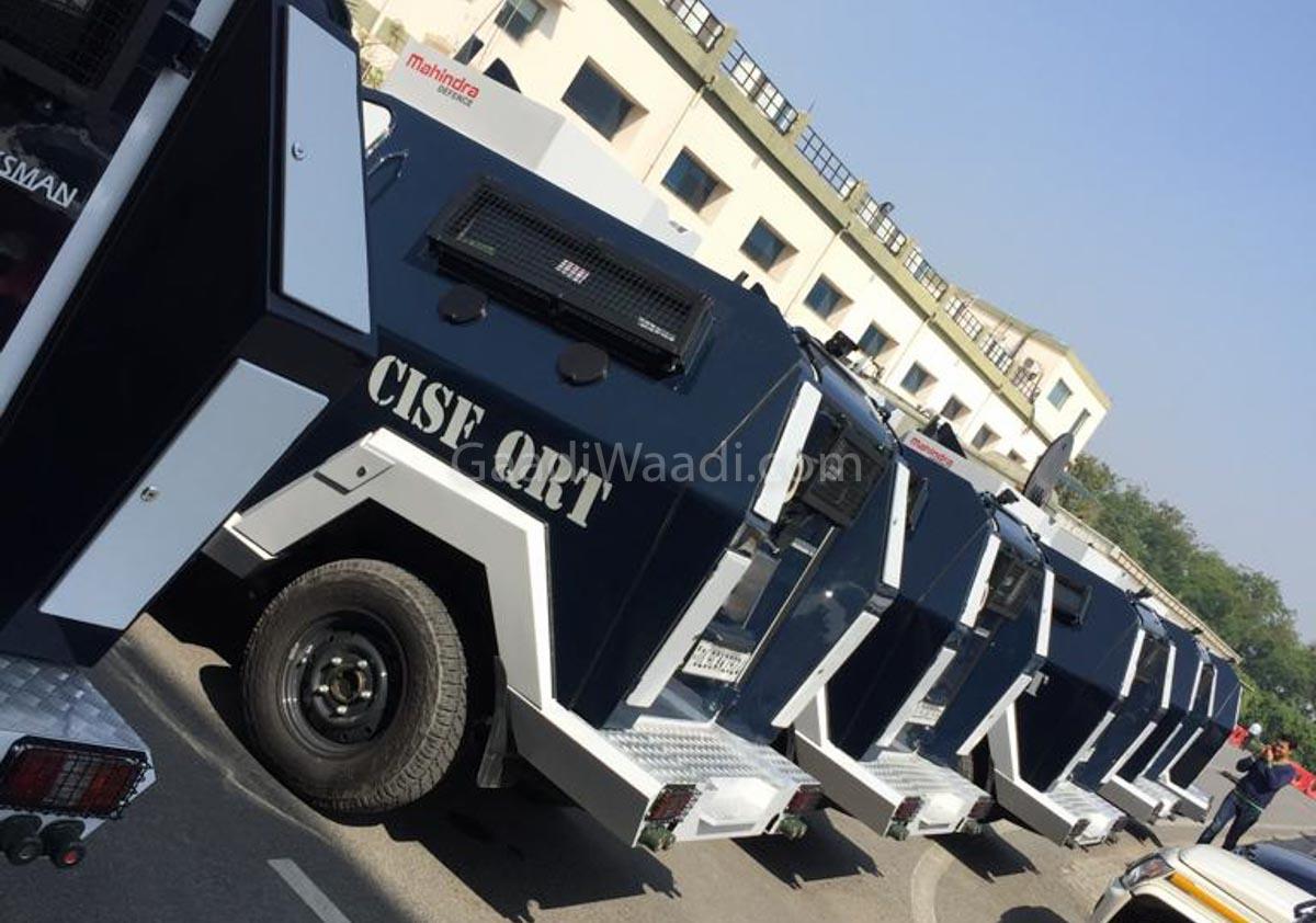 Six Armoured Mahindra Marksman Bulletproof Vehicles Deployed