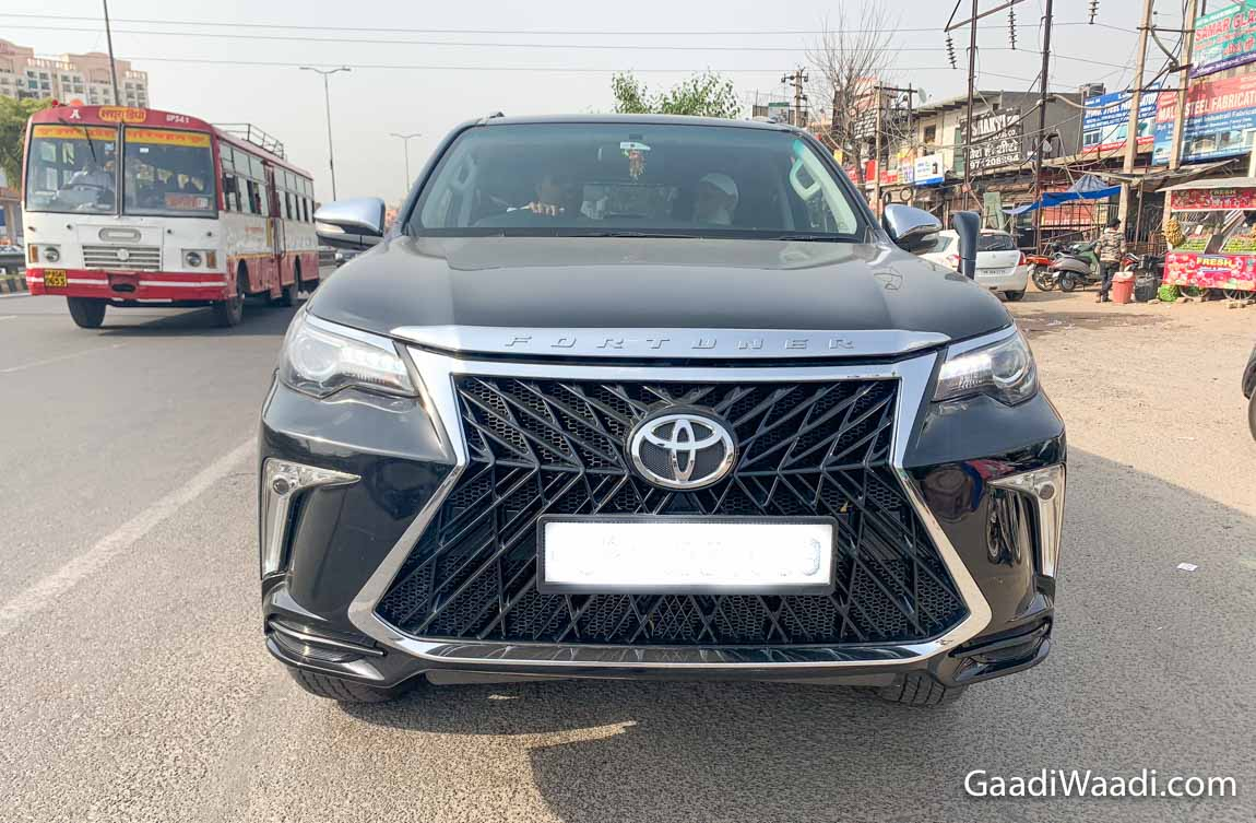 Toyota Fortuner With Lexus-Inspired Spindle Grille Rules The