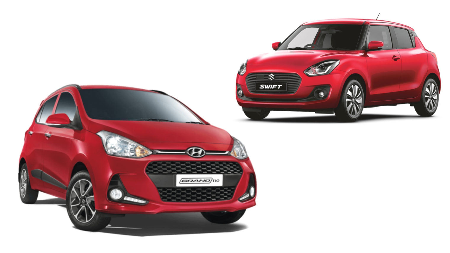 swift amt vs grand i10 at