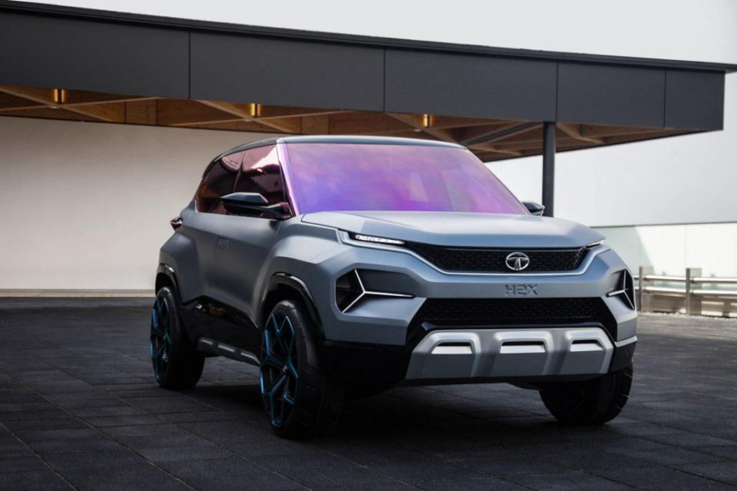tata h2x concept front design
