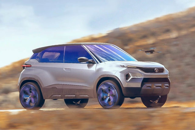 tata h2x concept front end