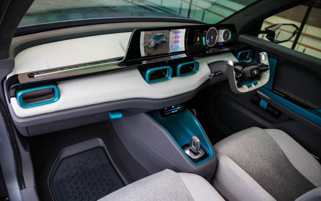 tata h2x concept interior 2