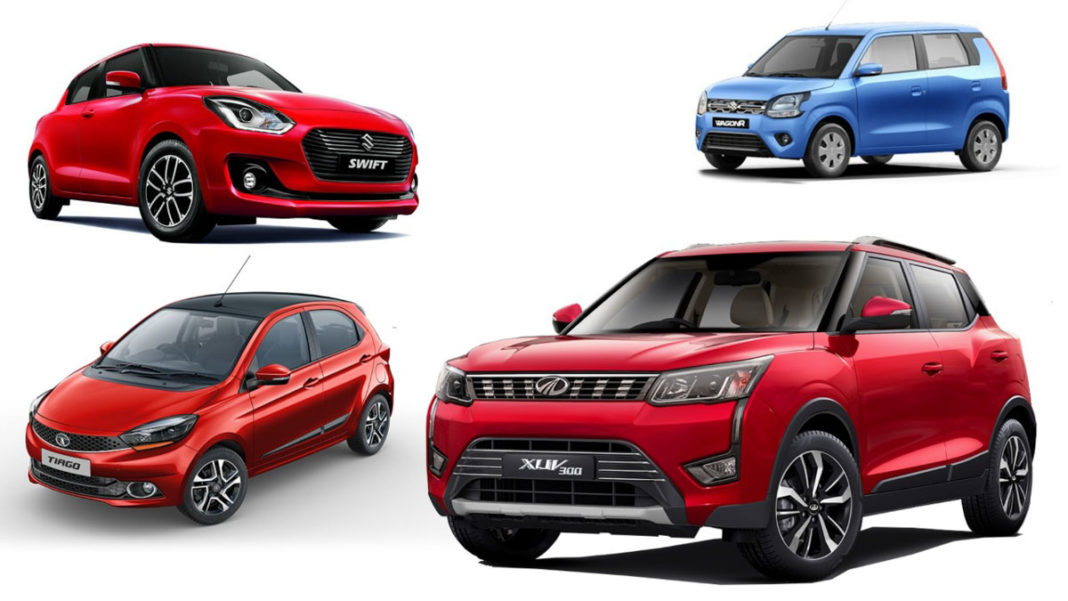 top 10 selling cars february 2019