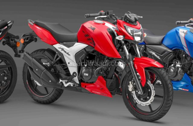 TVS Updates Apache RTR Series With ABS System
