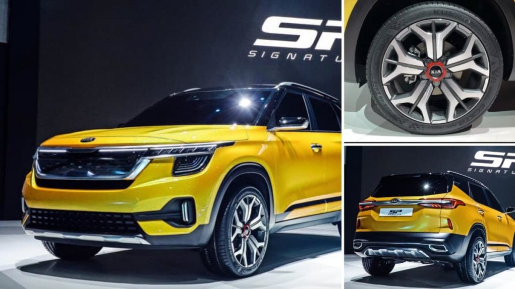 upcoming Kia SP2i showcased seoul motor show