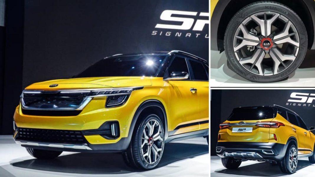 upcoming Kia SP2i showcased seoul motor show