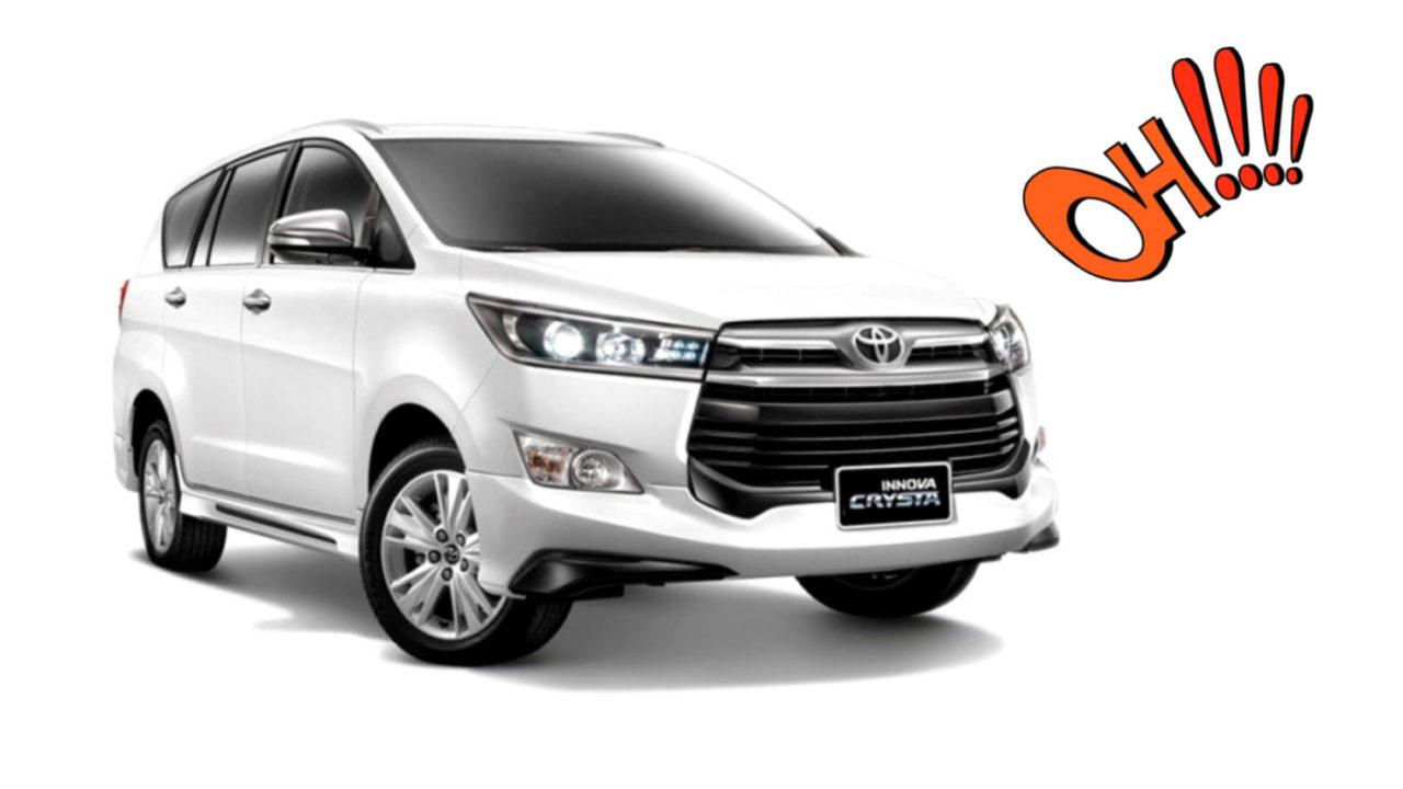 Toyota Innova 2020 Top Model Price