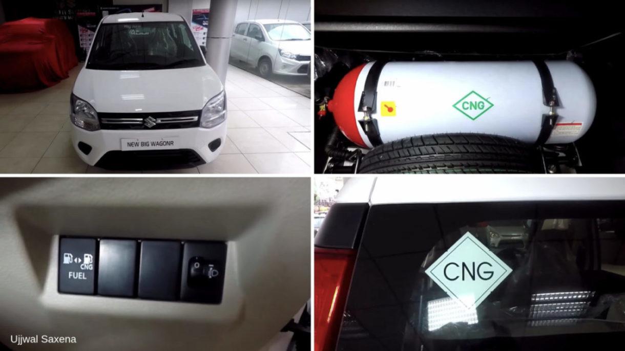new maruti suzuki wagon r lxi cng detailed walkaround