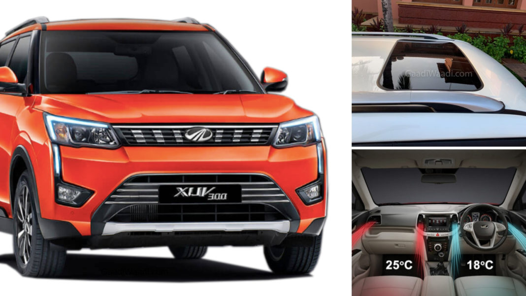 xuv300 features