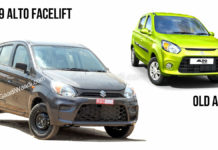 2019 alto facelift vs old alto-1