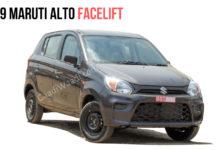 2019 maruti alto facelift