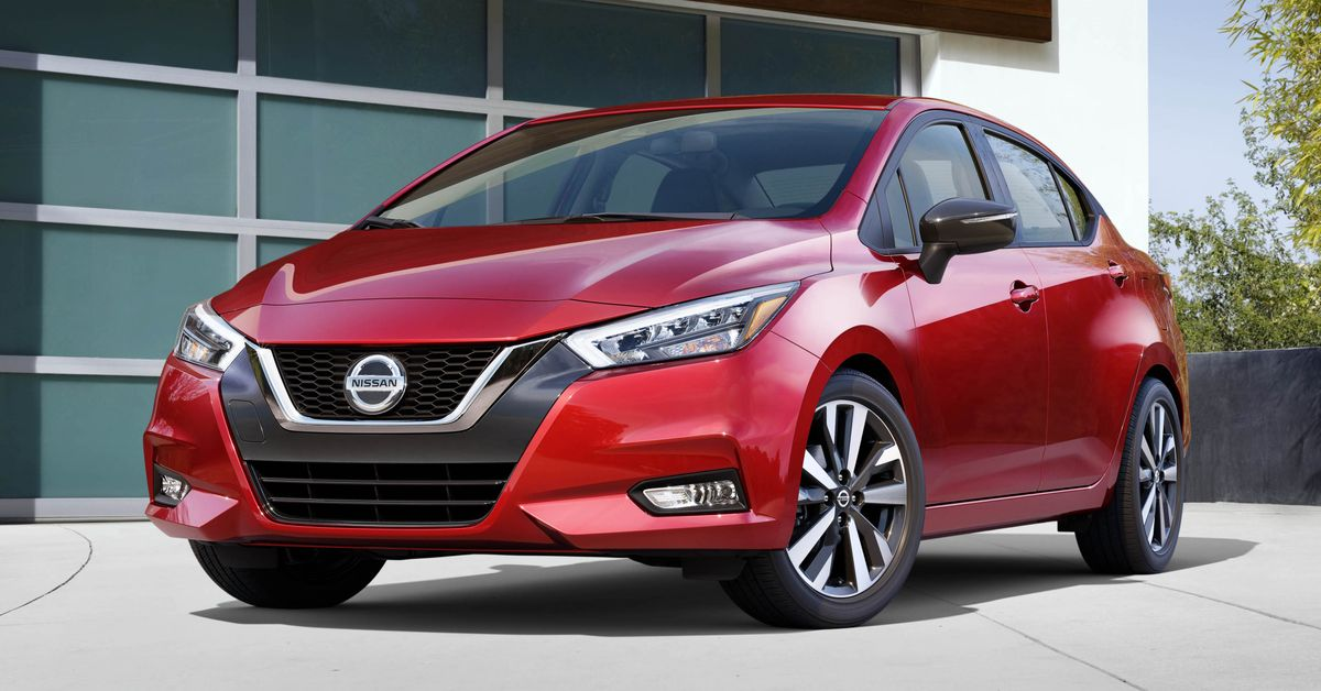 Nissan Versa unveiled, not for Australia