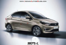 2020 Tata Tigor Facelift Rendered